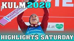 Skifliegen Kulm 2020 // Die wichtigsten Highlights des Samstagsspringens