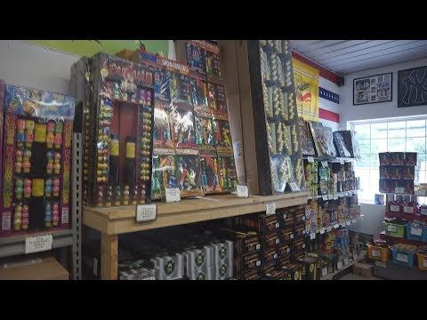 Going Fireworks Shopping At The Cheapest Store In PA