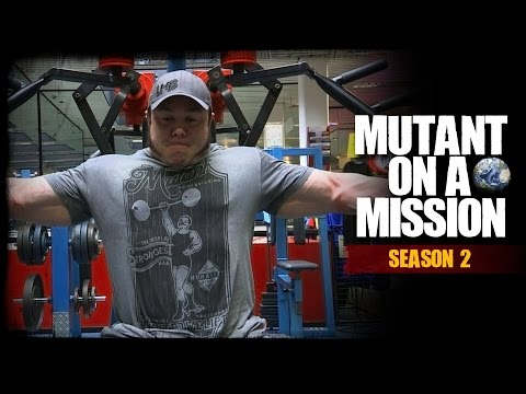MUTANT ON A MISSION - Olymp Fitness, Dusseldorf Germany