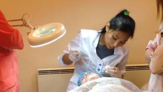 АирисКом: студенты учатся практика косметологов; физиотерапия