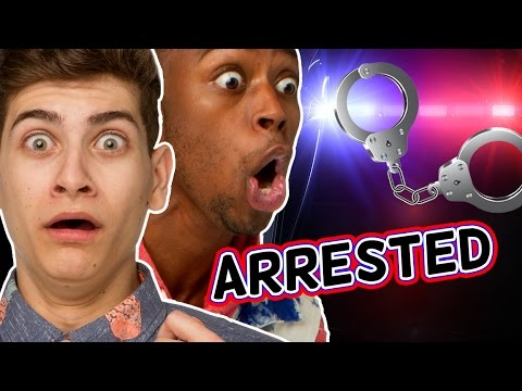 THE TIMES WE ALMOST GOT ARRESTED! (The Show w/ No Name)