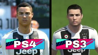 FIFA 19 PS3 vs PS4 Graphics Comparision