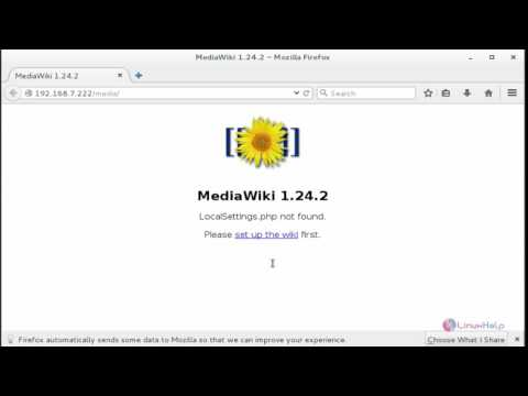How to install Mediawiki in Centos 7