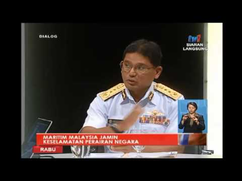 DIALOG - MARITIM MALAYSIA JAMIN KESELAMATAN PERAIRAN NEGARA [1 JUN 2016]