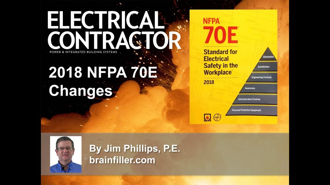 2018 NFPA 70E Updates and Changes - YouTube