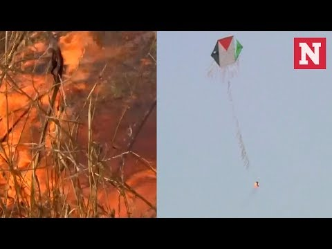 Flaming Kites From Gaza Pose New Challenge For Israel