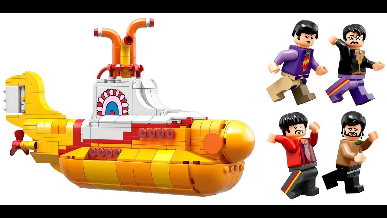 LEGO Yellow Submarine with The Beatles! - YouTube