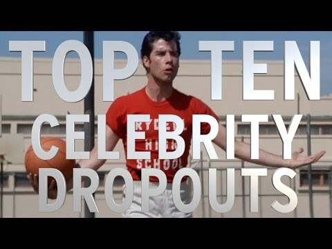 Top 10 Celebrities Who Never Graduated From High School