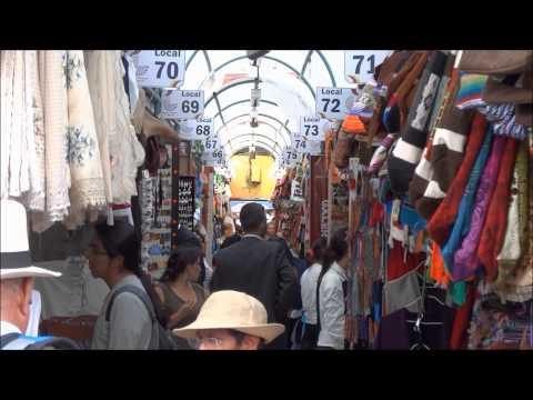 Mercado Artesanal La Mariscal - A Handicrafts Market in Quito