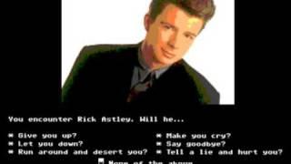 8 bit Rickroll