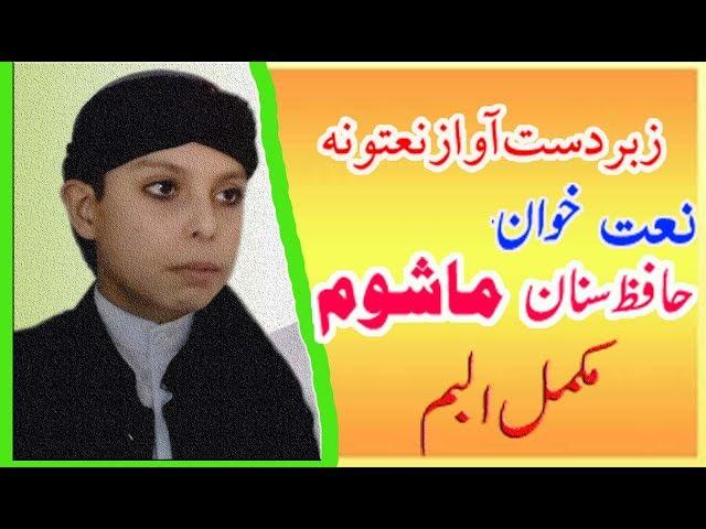 Hafiz Sanan Ahmad Mashoom Vol-10 - Pashto Naats 2018- naat -  Bayanats 2018 (2)