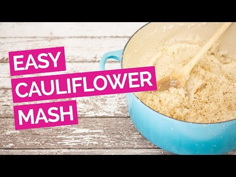 Easy Cauliflower Mashed Potatoes (No Food Processor)