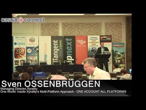 One World: Inside Xyrality's Multi-Platform Approach - ONE ACCOUNT ALL PLATFORMS   Sven OSSENBRUGGEN