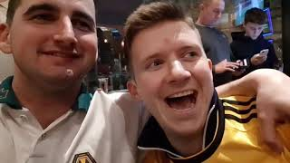 JIMENEZ N JOTA SEND WOLVES TO WEMBLEY! | ridiculous scenes! | Wolves 2-1 Man United  FA Cup