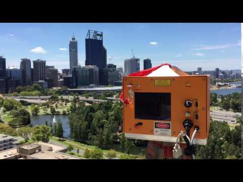ILRIS LR Scanning Perth Skyline