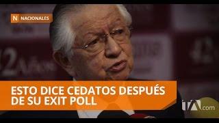 Cedatos habla de su trabajo durante el exit poll - Teleamazonas