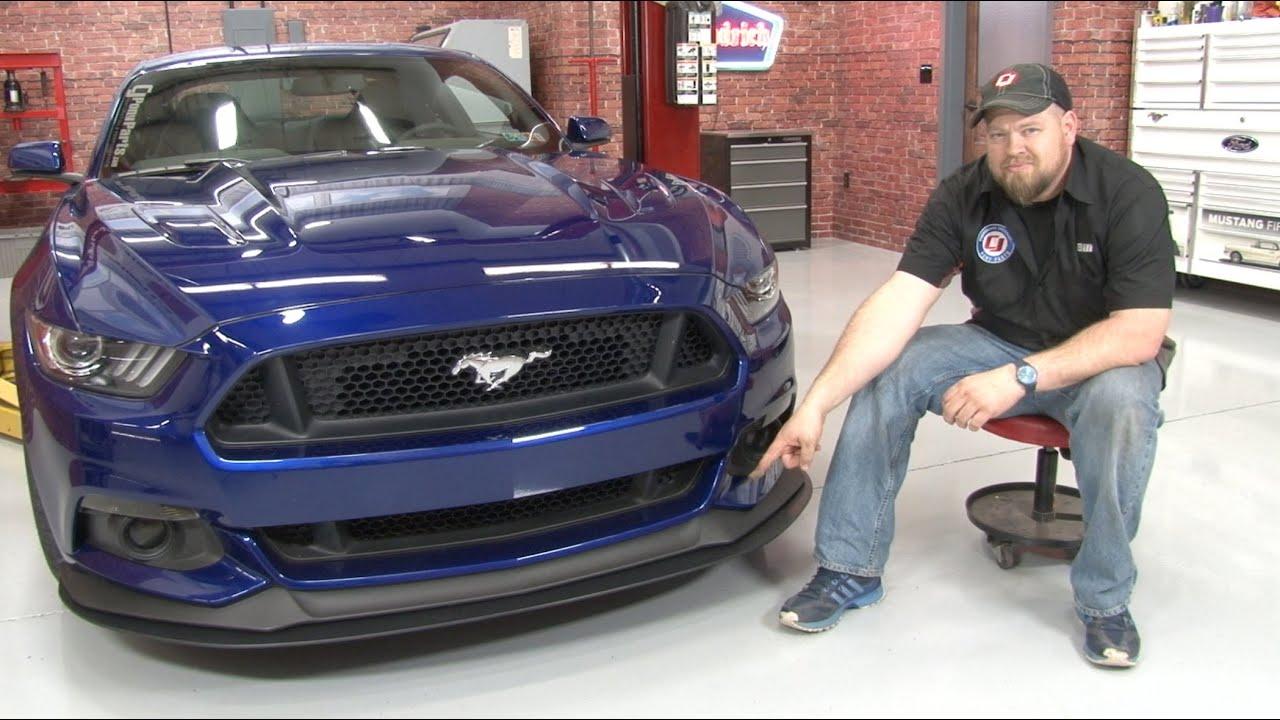 2015-2017 Mustang GT Steeda Front Splitter Kit Installation