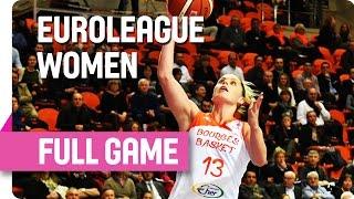 Bourges Basket (FRA) v Spar Citylift GIrona (ESP) - Full Game - Group B - 2015-16 EuroLeague Women