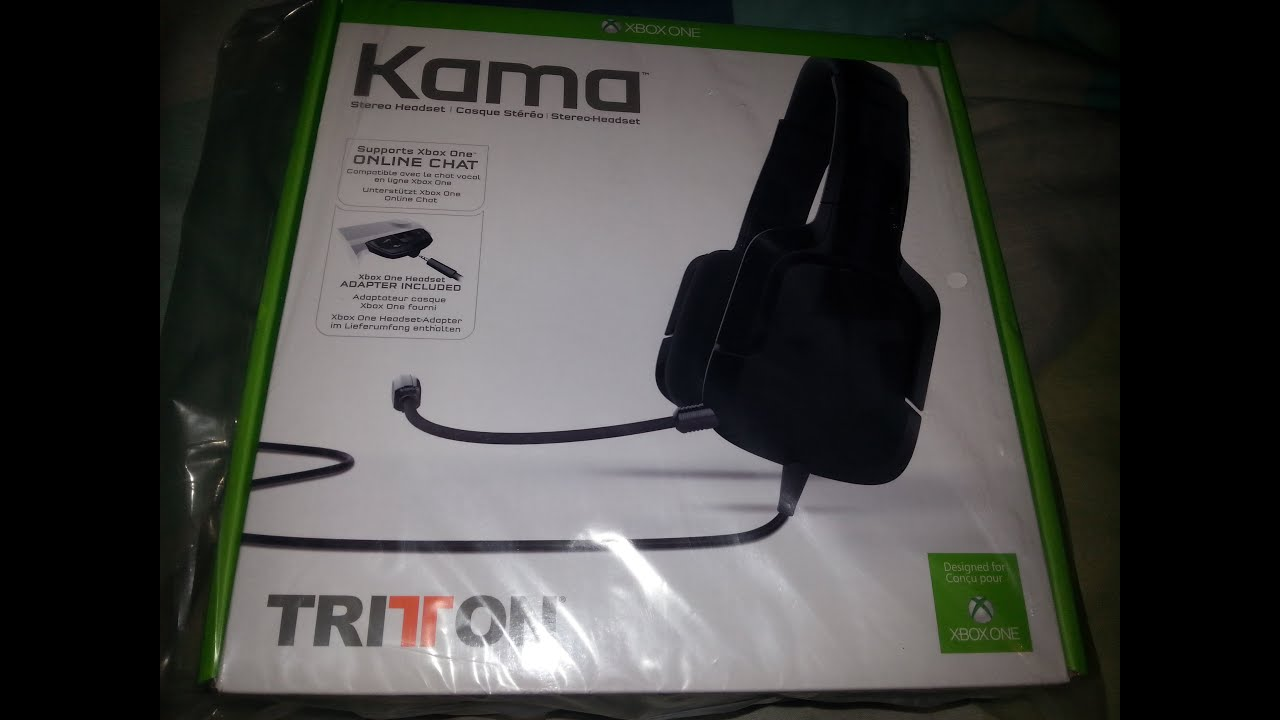 Tritton Kama Xbox One Headset Review/Unboxing