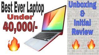 Asus Vivobook 14 Unboxing & first impressions || Best laptop under Rs. 40,000 🔥🔥