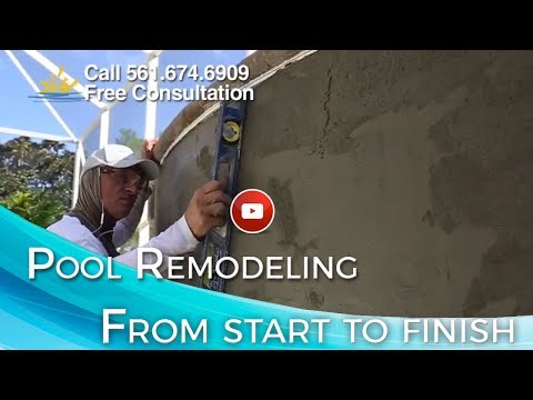 Swimming Pool Remodeling from Start to Finish - Part 1