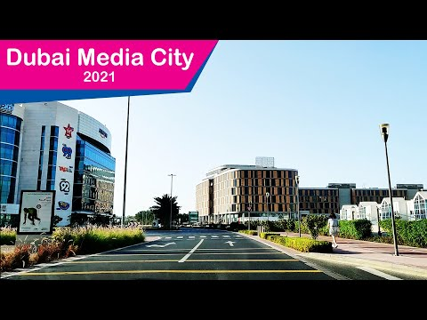 Dubai Media City and Knowledge Village Drive - 2021
