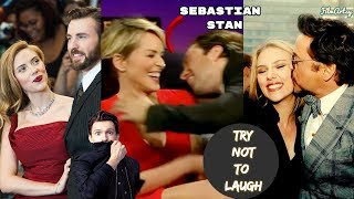 Avengers 4: Endgame Cast Continuously Flirting & Being Perverts - Try Not To Laugh 2018
