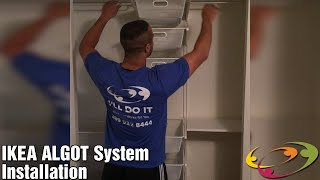 ikea algot system installation