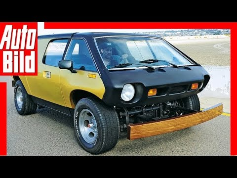 First Lamborghini Ever Made >> Brubaker Box - the first minivan - YouTube
