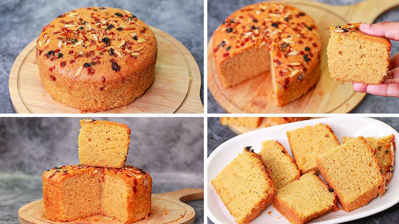 Besan Cake Recipe | Eggless & Without Oven | Gram Flour Cake | Yummy