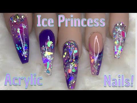 Ice Princess Nails | Acrylic Nails | Nail Sugar