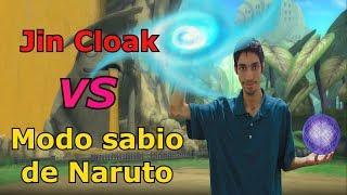 Modo sabio de Naruto VS Jin Cloak! | Roblox: NRPG: Beyond