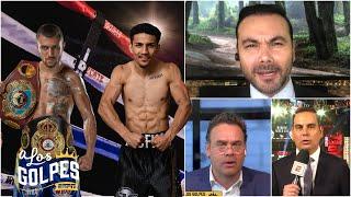 Lomachenko vs Teófimo López pesaje, cara a cara y análisis de la pelea en Las Vegas | A Los Golpes