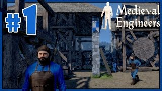 Let's Play Medieval Engineers Gameplay - Part 1 - Starting Out