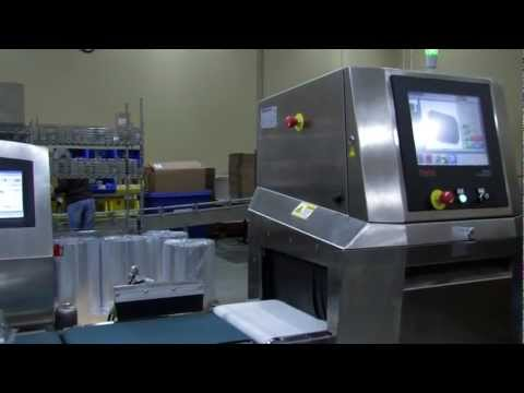 Thermo Scientific Checkweighers, X-Ray Systems, Metal Detectors and Inline Food Analyzer Overview