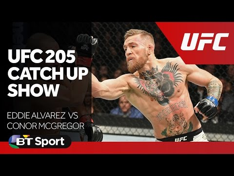 UFC 205 Catch Up Show   Alvarez v McGregor New Flash Game