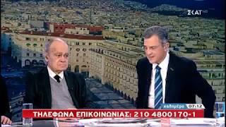 """16-2-2019_Ο καθηγητής Γ. Ρωμανιάς στην εκπομπή του Γ. Αυτιά  """"ΚΑΛΗΜΕΡΑ"""", εξηγεί για τις συντάξεις."""