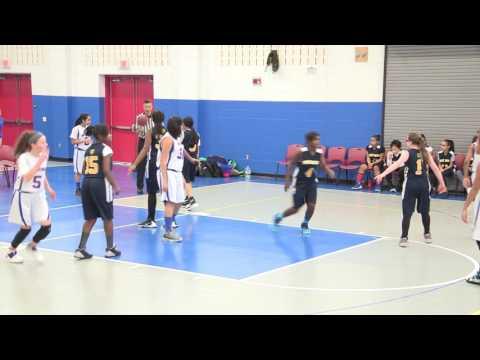 CREC Middle School Girls Basketball 2017 Championship, PSA vs Two Rivers Magnet School