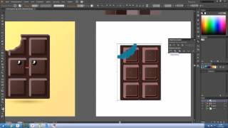 How to Draw chocolate in Adobe Illustrator