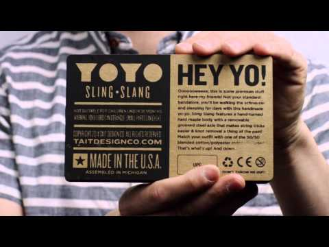 Sling-Slang YOYO by TAIT Design Co - 1st Place The Dieline Awards 2015 Acceptance