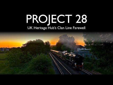 Project 28: UK Heritage Hub's Clan Line Farewell