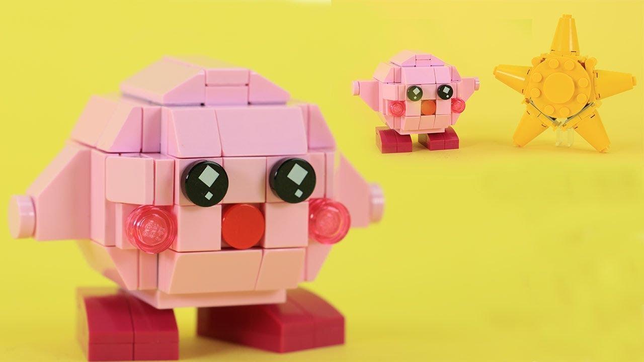 Create A Kirby Character Noll: Custom Nintendo LEGO Build - YouTube