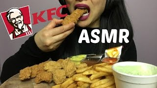 ASMR KFC BONELESS CHICKEN COMBO (EATING SOUNDS) | SAS-ASMR