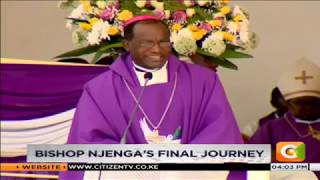 Arch bishop John Joseph Njenga buried in Nairobi #CitizenBriefs