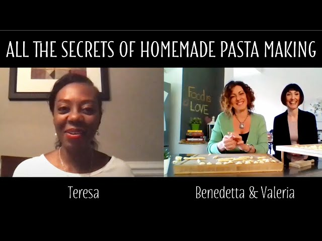 All the Secrets of Homemade Pasta Making