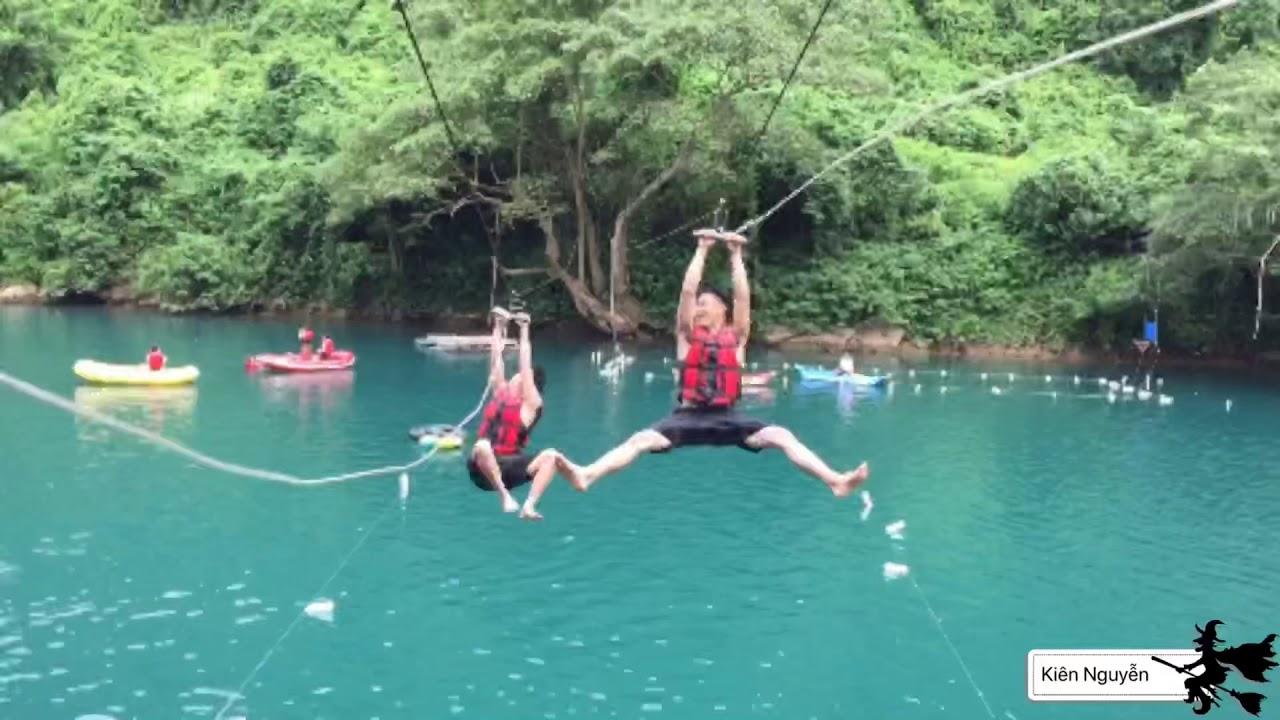 Trải Nghiệm Du Lịch Suối Moọc-Quảng Bình- du lịch mùa hè (  Experience Suoi Moo Travel )