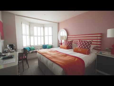 Bedrooms at Brighton Harbour Hotel