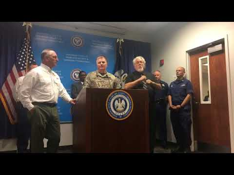 Gov. Edwards talks declares emergency ahead of Tropical Storm Nate