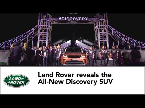 Land Rover reveals the All-New Discovery SUV