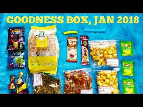 *NEW* Goodness Box @ 599 | Healthy Munching | January 2018 | Leotales by Niranjana